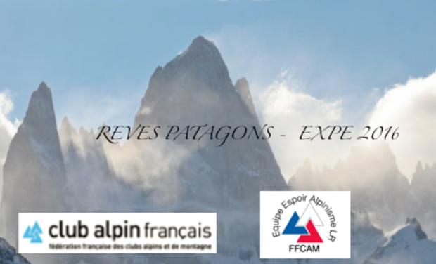 Visuel du projet Rêves patagons - Expédition 2016