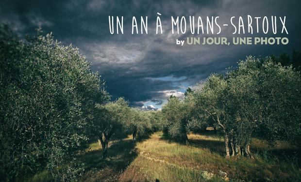 """Visuel du projet Un an à Mouans-Sartoux, by """"Un jour, une photo"""" - livre photo"""