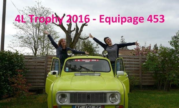 Visueel van project 4L Trophy 2016 - Equipage 453