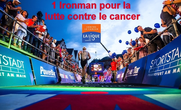 Project visual 1 Ironman pour la lutte contre le cancer