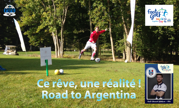 Project visual Footgolf : Coupe du monde 2016 (Argentine) et Saison 2016