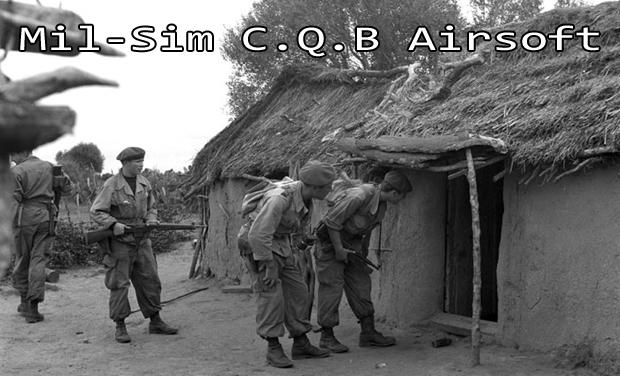 Visuel du projet Pour réaliser un CQB airsoft