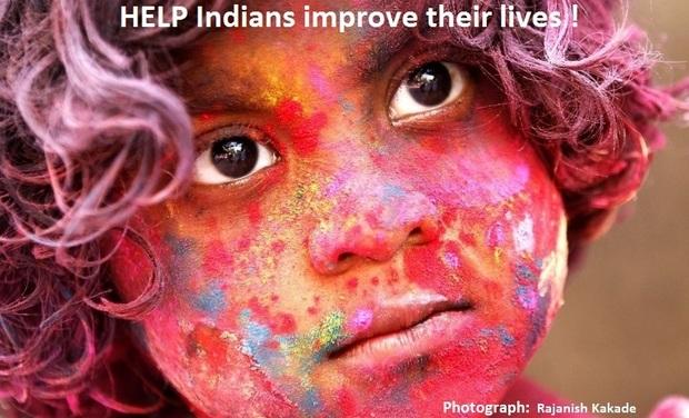 Visuel du projet Aidons les familles indiennes !