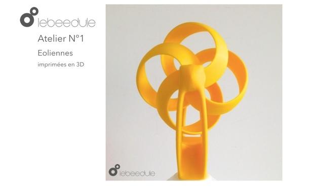 Project visual Ateliers éducatifs et créatifs en impression 3D