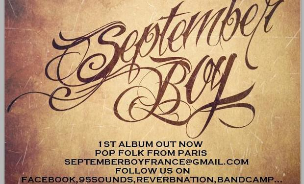 Visuel du projet 2 ND ALBUM SEPTEMBER BOY (POP FOLK)