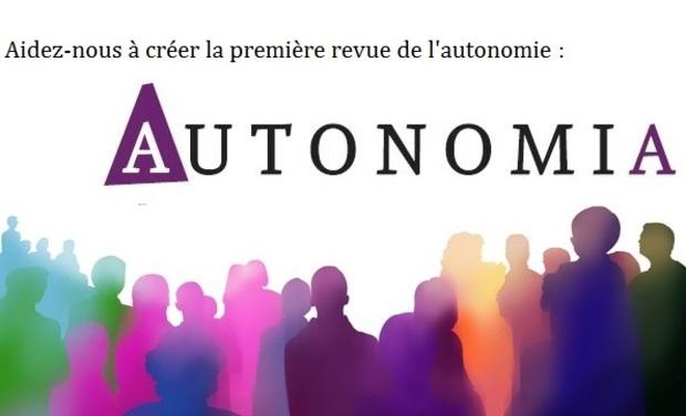 Visuel du projet Revue Autonomia