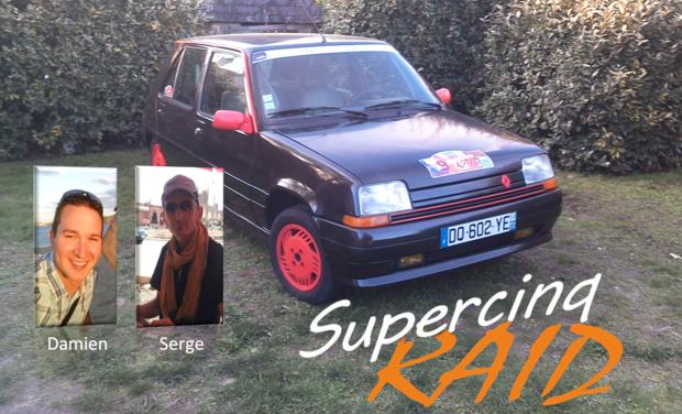 Project visual Rally Humanitaire au Maroc en Renault Super 5