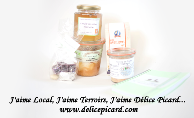 Visuel du projet J'aime Local, J'aime Terroirs, J'aime Délice Picard