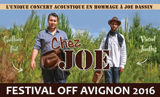 """Visuel du projet """"Chez Joe"""" - Festival Off d'Avignon 2016"""