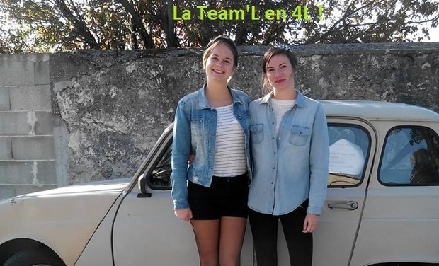 Visueel van project La Team'L au 4L Trophy 2016
