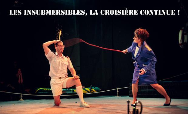 Visuel du projet Aidez Les Insubmersibles à jouer dans les Théâtres
