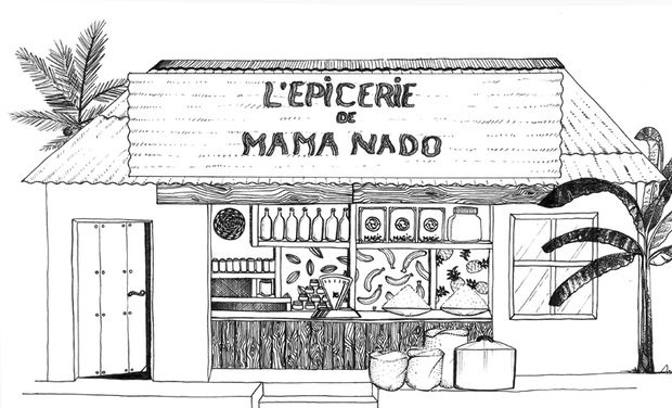 Project visual L'épicerie de Mama Nado