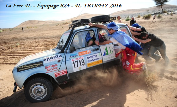 Project visual La Free 4L - Équipage 824 - 4L TROPHY 2016
