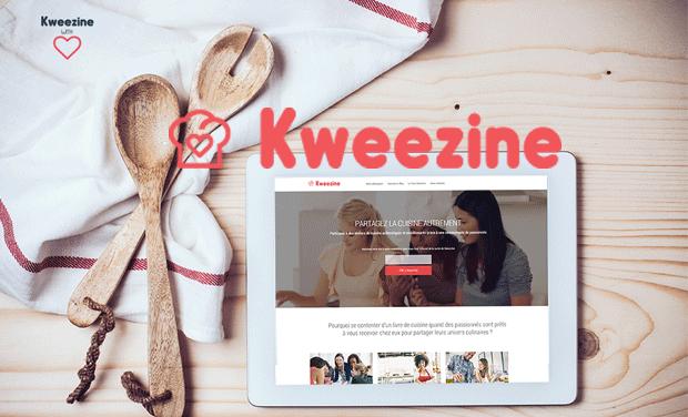 Visuel du projet Kweezine, la nouvelle expérience culinaire