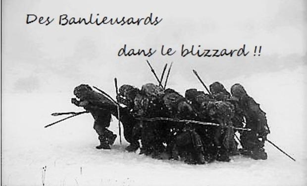 Visuel du projet Des banlieusards dans le blizzard !!