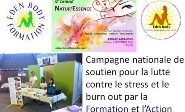 Project visual Campagne nationale de lutte contre le stress et le burn out