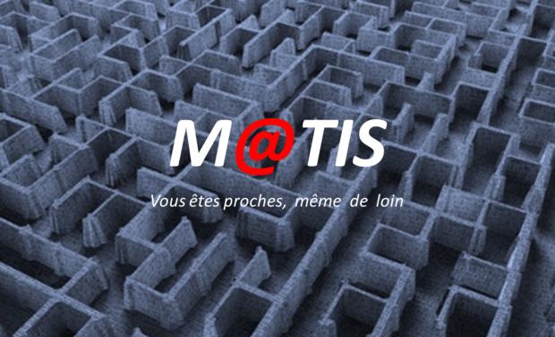 Visueel van project M@TIS, la géolocalisation nouvelle génération