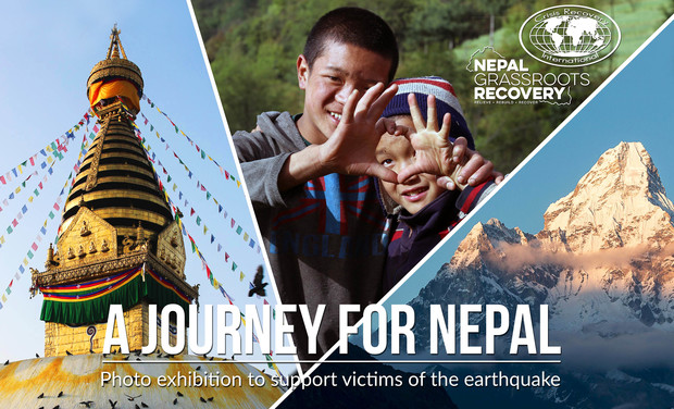 "Project visual ""A journey for Nepal"", l'expo au profit du Népal"