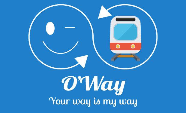 Visuel du projet O'Way ! Partagez durant vos trajets du quotidien