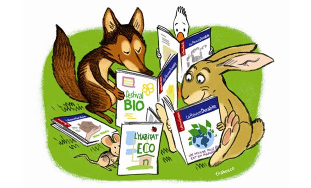Visueel van project LaRevueDurable : un nouveau site pour dix ans de savoirs sur l'écologie