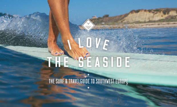 Project visual I Love the Seaside - the surf and travel guide