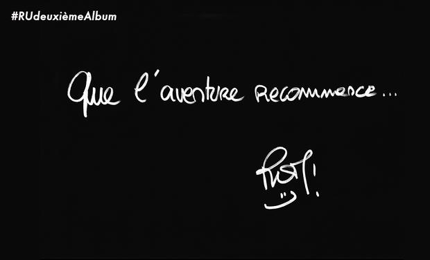 Visuel du projet Romain Ughetto - 2ème Album