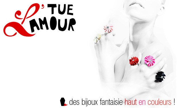 Visueel van project Tue L'Amour, bijoux fantaisie