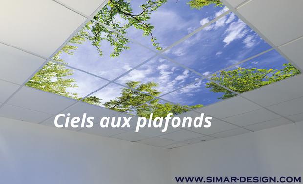 Project visual Ciel au plafond