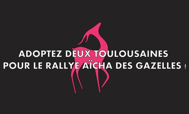 Visuel du projet Adoptez 2 Toulousaines pour le Rallye Aïcha des Gazelles !