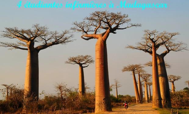 Project visual Étudiantes infimières : cap sur Madagascar !