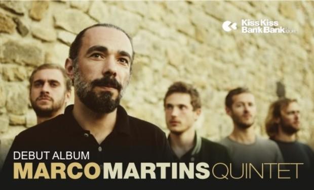 Visuel du projet Marco Martins Quintet_Debut Album