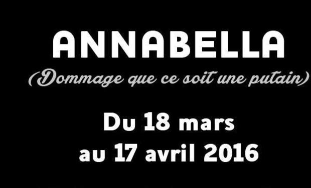Project visual ANNABELLA ( dommage que ce soit une putain...)