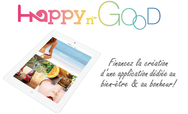 Visuel du projet Application mobile HappynGood
