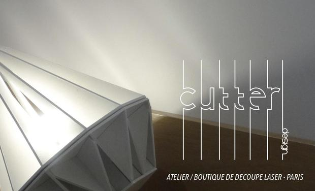 Visueel van project CUTTER - atelier/boutique de découpe laser à Paris.