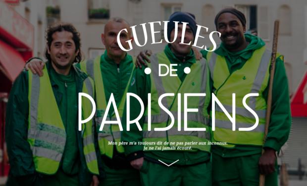 Visuel du projet La Grande Expo Gueules de Parisiens