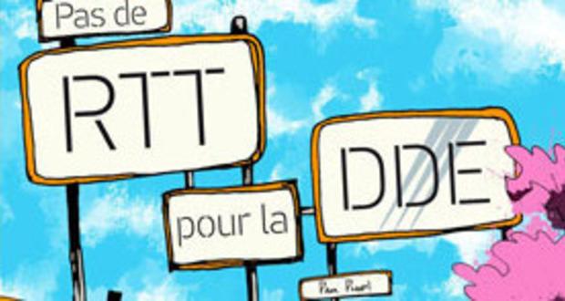 Visueel van project pas de RTT pour la DDE