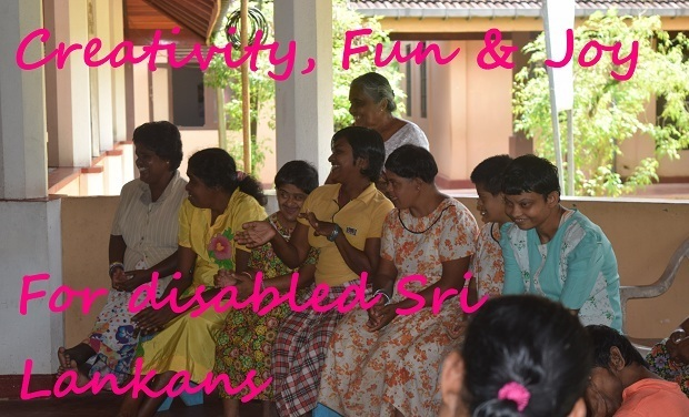 Visuel du projet Creativity, Fun and Joy for Disabled Sri Lankans
