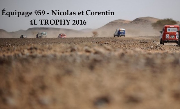 Project visual 4L TROPHY 2016 - Équipage 959