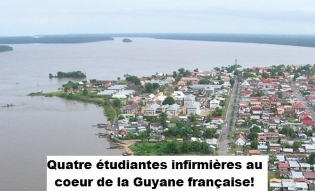 Visuel du projet Découverte des soins infirmiers en Guyane française!