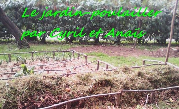 Project visual Le jardin poulailler