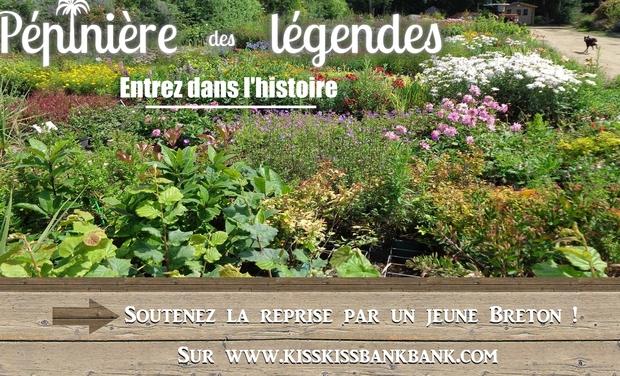 Visuel du projet Pépinières des légendes , entrez dans l histoire