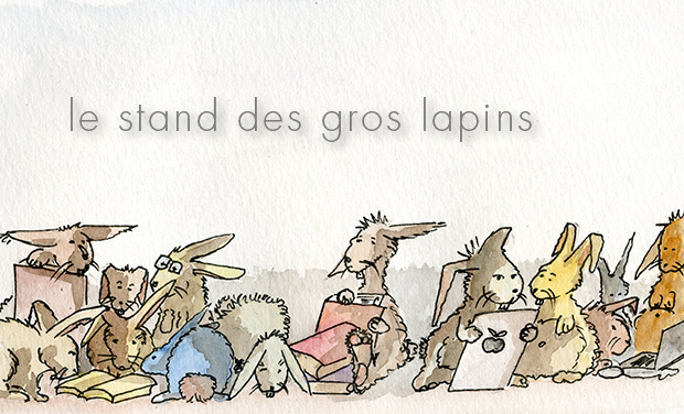 Visueel van project Le stand des gros lapins
