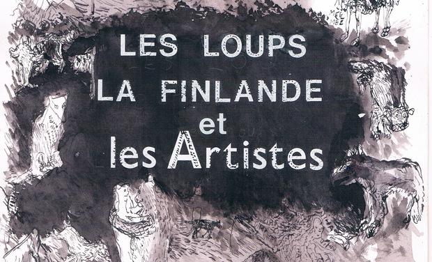 Visuel du projet Les Loups, la Finlande et les Artistes. Art, écologie et amitié belgo-finlandaise.
