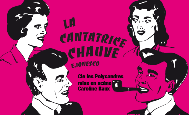 Project visual La Cantatrice Chauve
