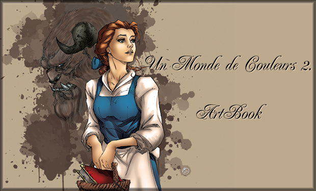 Visueel van project Un monde de couleurs l'Artbook