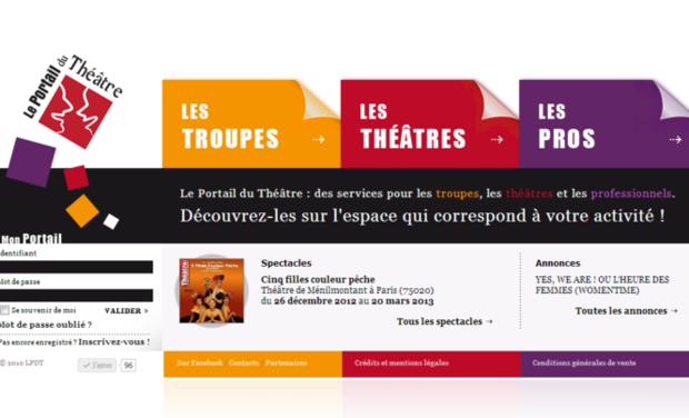 Visuel du projet Le Portail Du Théâtre : la V2 !