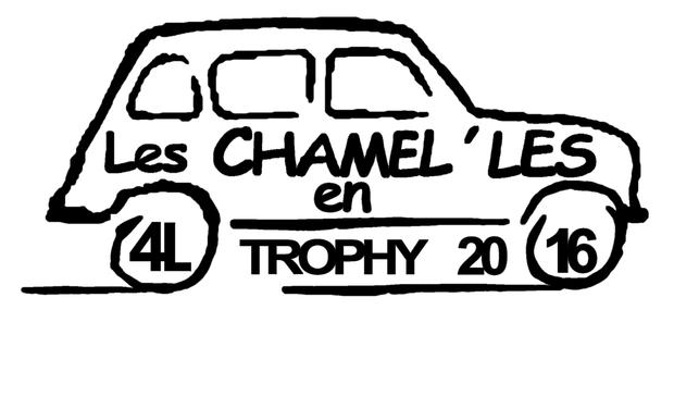 Visueel van project Soutenez Les Chamel'les en 4L (Trophy 2016)