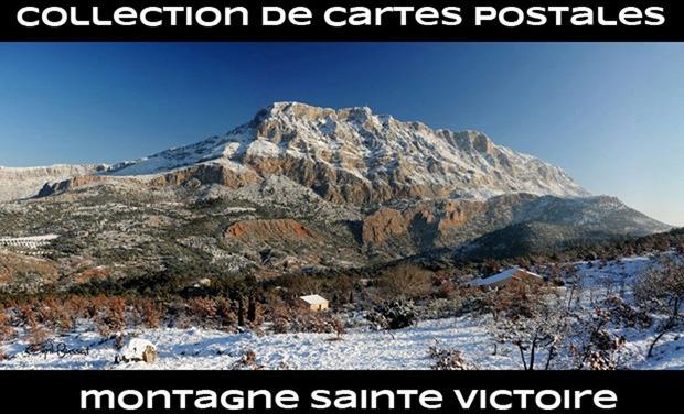 Visuel du projet Collection de cartes postales dédiées à la montagne Sainte Victoire