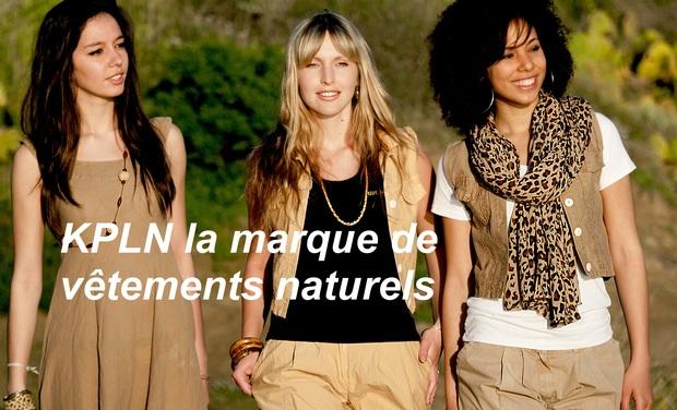 Visuel du projet Soutenez KPLN, une marque de vêtements engagée au profit de votre bien-être et de l'environnement !