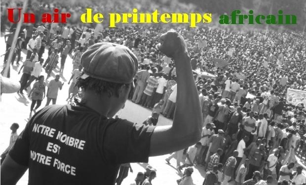 Visuel du projet Un air de printemps africain, le doc